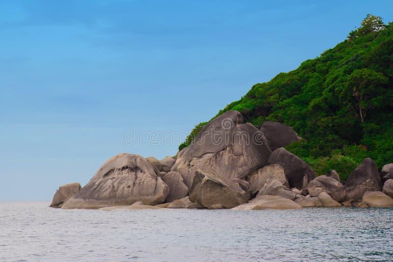 Красивая природа Таиланда стоковая фотография rf