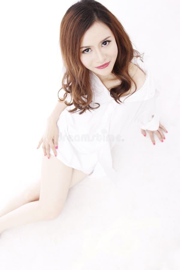 Красивая сексуальная девушка 1 стоковое изображение