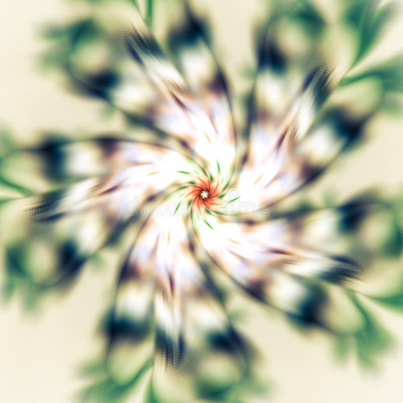 Красивая спиральная картина Абстрактная предпосылка с геометрическим e стоковая фотография rf