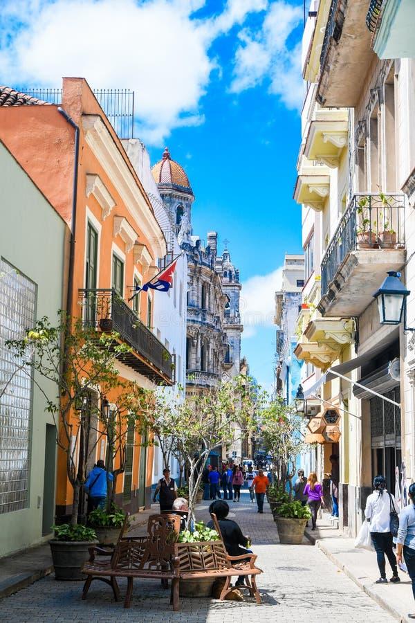 Красивая старая Гавана стоковые фотографии rf