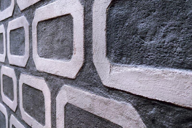 Красивая стена восстановленного здания, предпосылка стоковое изображение rf