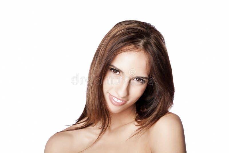 Красивая счастливая улыбка Стоковое фото RF