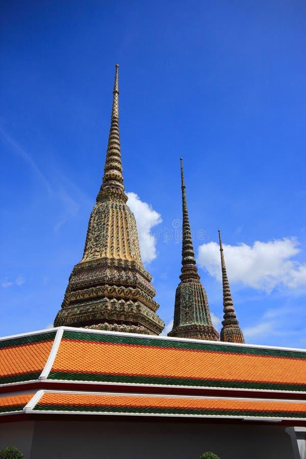 Красивая церковь в Thailland стоковое изображение rf