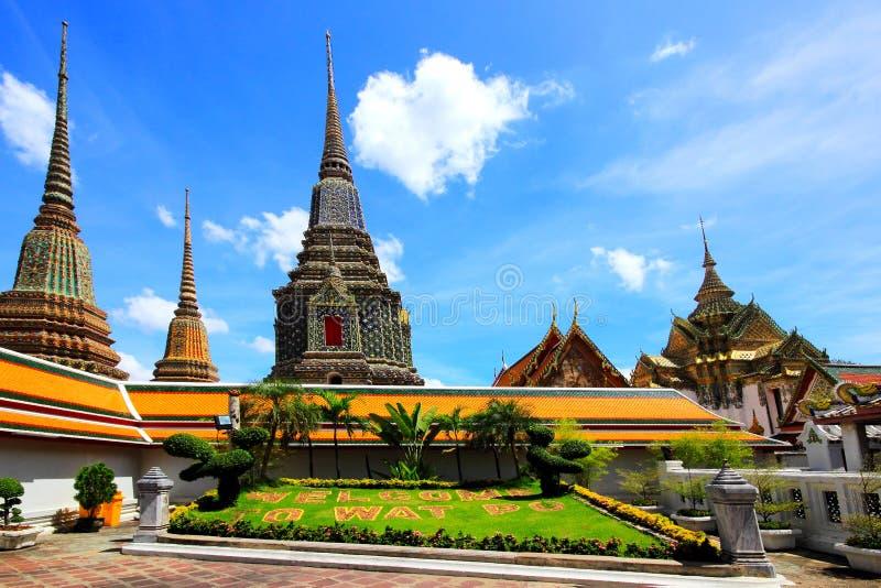 Красивая церковь на Wat Arun стоковое фото rf