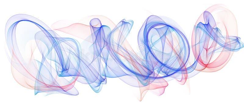 Красивейшая абстрактная предпосылка бесплатная иллюстрация
