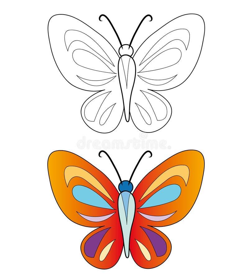 красивейшая бабочка бесплатная иллюстрация