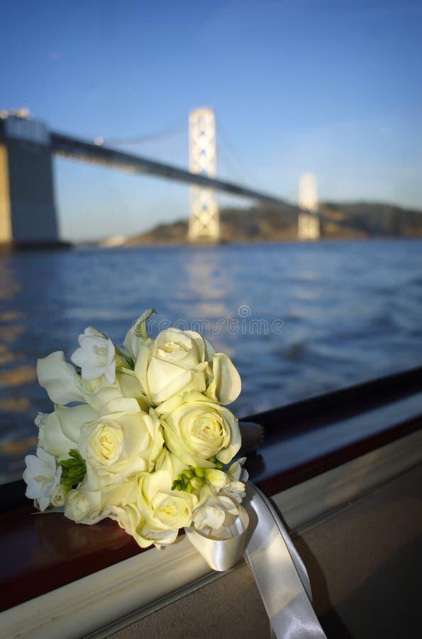 красивейшая белизна моста букета стоковое изображение rf