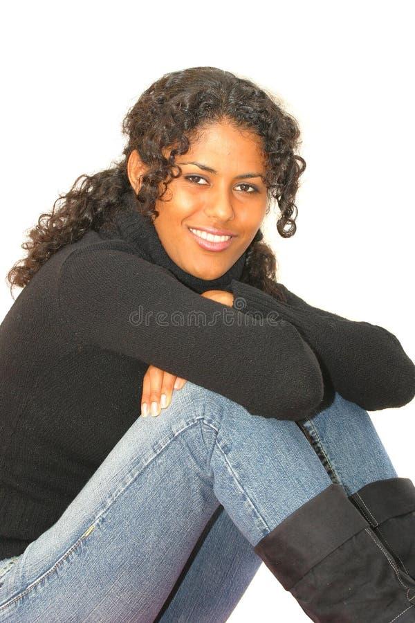 красивейшая бразильская девушка Стоковые Фотографии RF