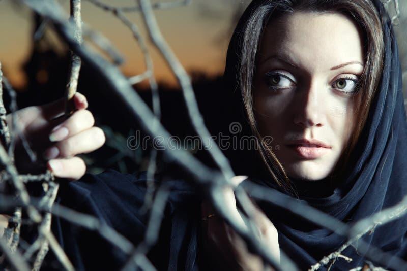 красивейшая ведьма стоковая фотография rf