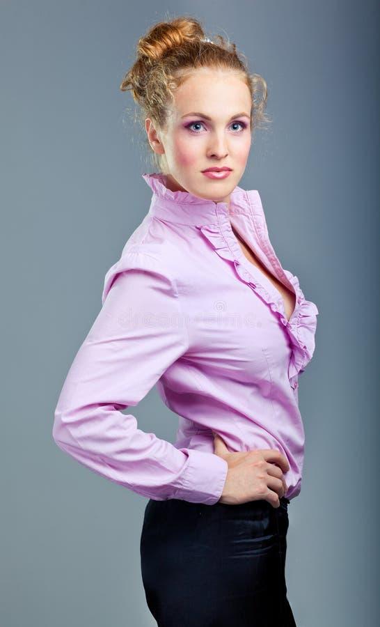 красивейшая голубая повелительница стоковое фото