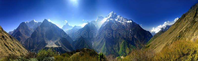 красивейшая гора lanscape стоковая фотография