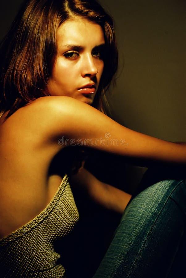 красивейшая девушка сексуальная стоковые изображения