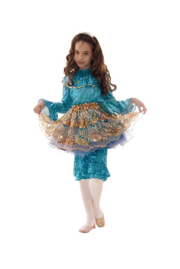 красивейшая девушка фе costume стоковые изображения rf