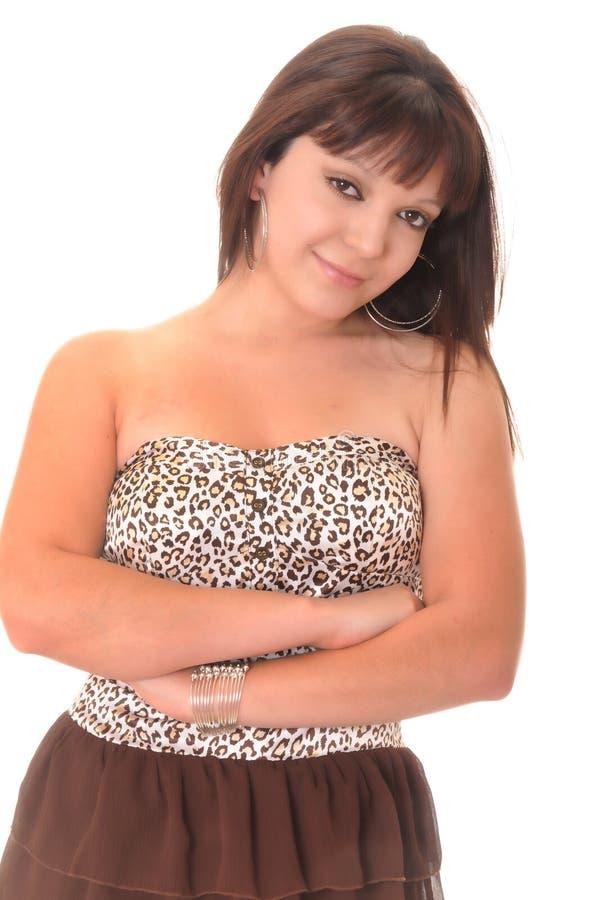 красивейшая девушка latina стоковая фотография