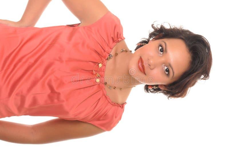 красивейшая девушка latina стоковая фотография rf