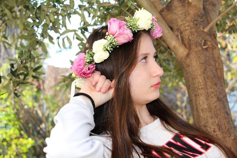 красивейшая девушка предназначенная для подростков стоковая фотография rf