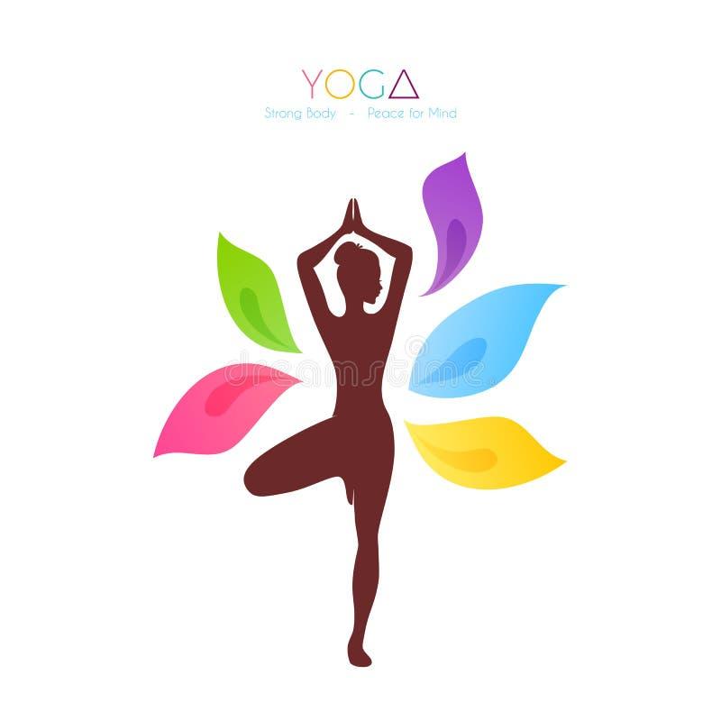 красивейшая делая йога женщины бесплатная иллюстрация