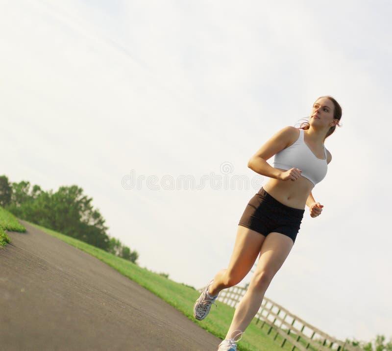 красивейшая женщина бегунка Стоковые Изображения