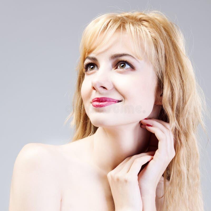 красивейшая женщина здоровья стороны стоковые изображения