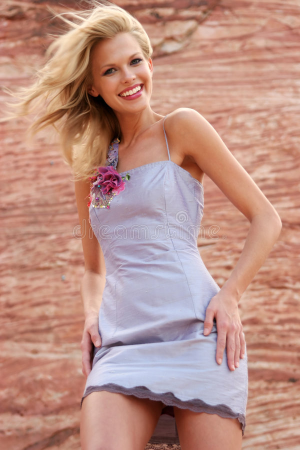 красивейшая женщина платья стоковые изображения