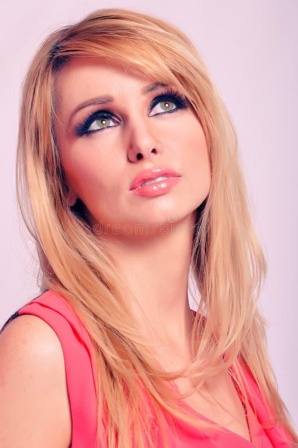 красивейшая женщина портрета дела стоковые фотографии rf