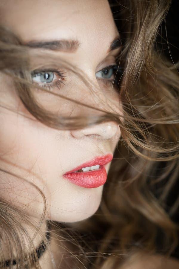 красивейшая женщина портрета стоковые фото