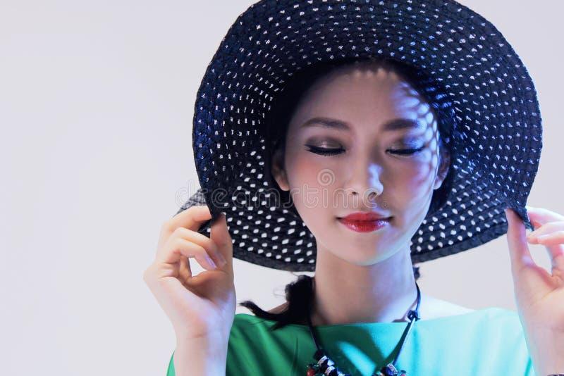 красивейшая женщина способа стоковая фотография