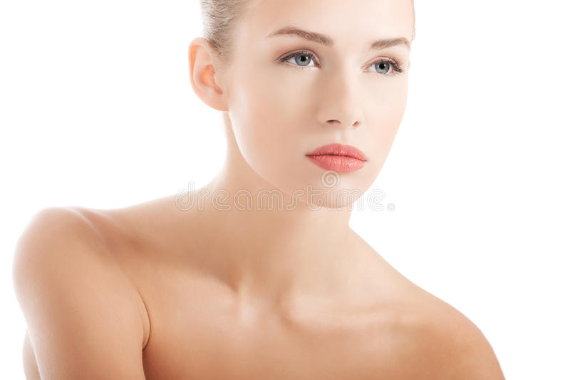 Красивейшая женщина спы стоковые изображения rf