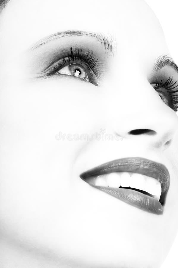 красивейшая женщина стороны Стоковые Изображения RF