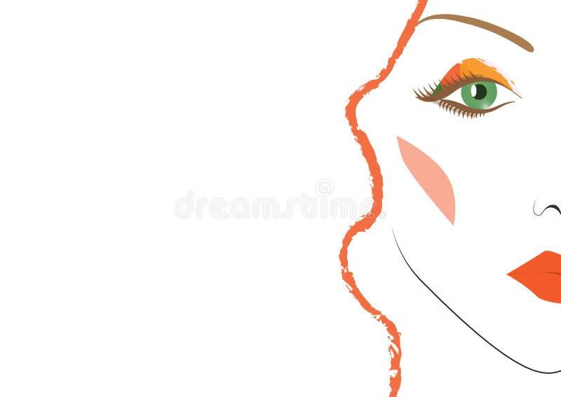 красивейшая женщина стороны стоковые фотографии rf