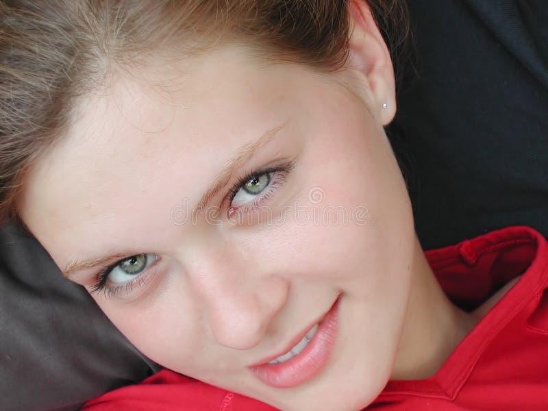 Download красивейшая женщина стоковое изображение. изображение насчитывающей усмехаться - 485063