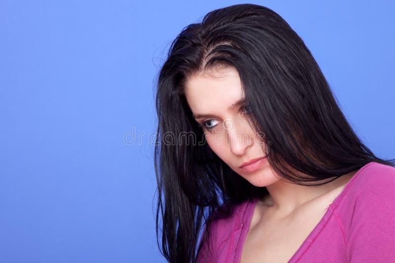 красивейшая заботливая женщина стоковые изображения rf