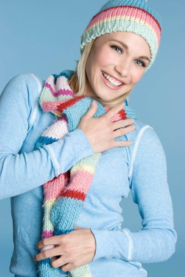 красивейшая зима девушки стоковые изображения