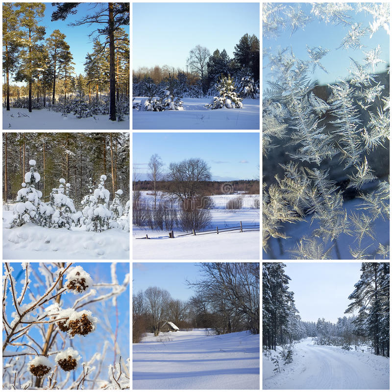 Зимние картинки из салфеток