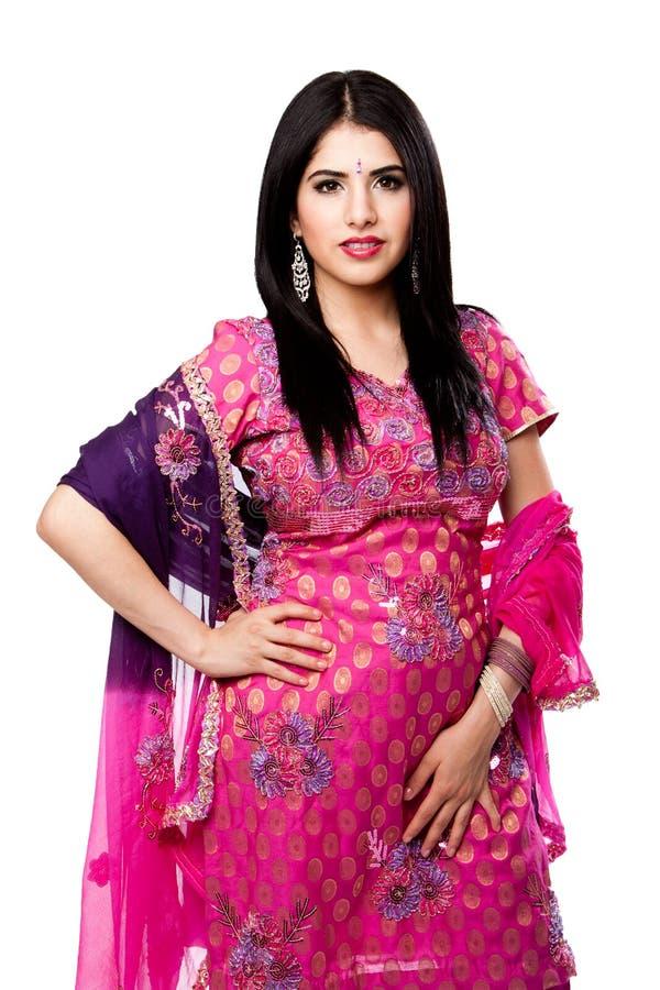 красивейшая индусская индийская женщина стоковые фото
