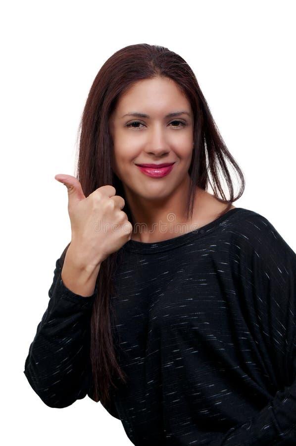 Download Красивейшая испанская женщина Стоковое Изображение - изображение насчитывающей adulteration, волосы: 18396167