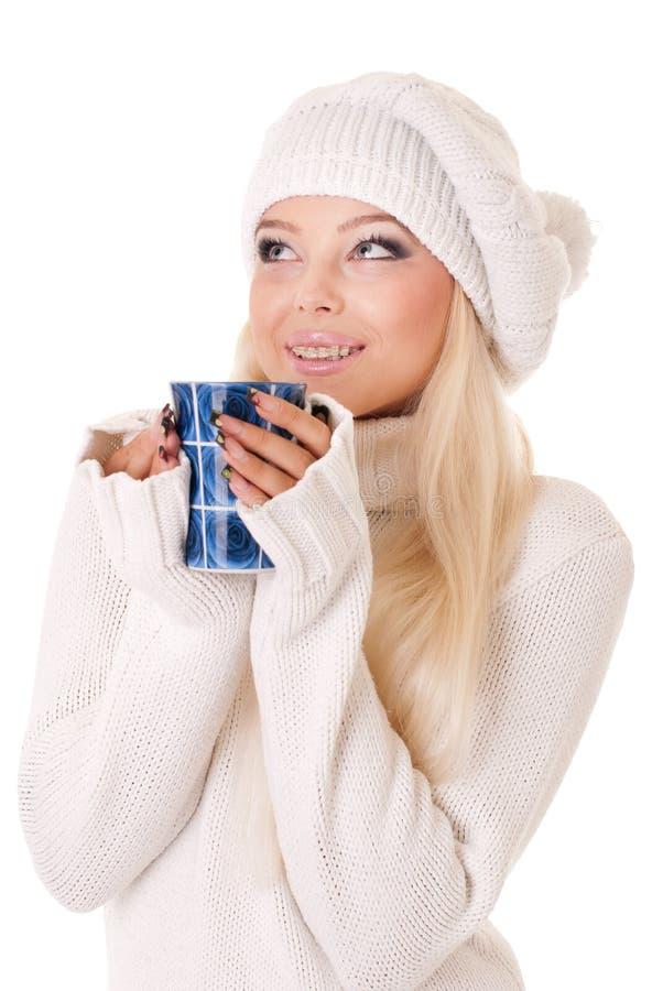 красивейшая кавказская девушка стоковые изображения rf