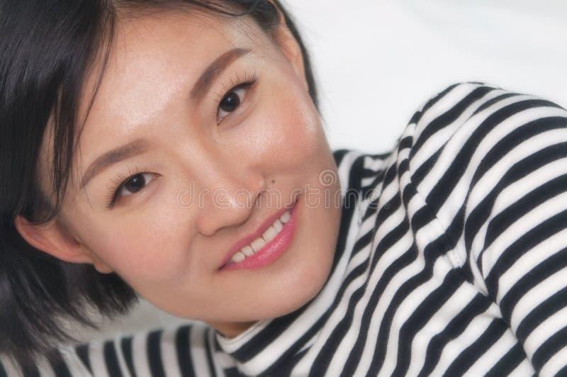 красивейшая китайская женщина стоковое изображение rf