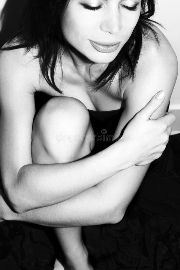 красивейшая моделируя женщина стоковое фото rf