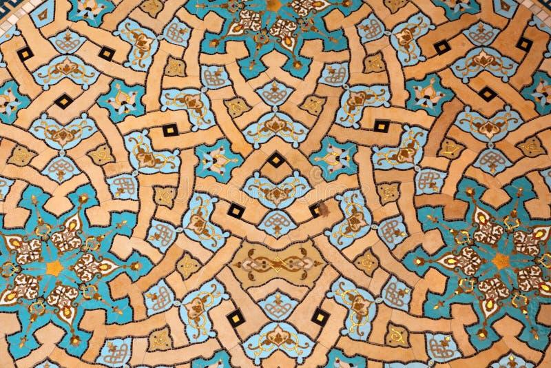 красивейшая мозаика oriental стоковые изображения rf