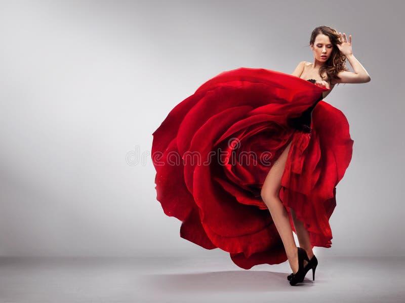 Красивейшая молодая повелительница стоковые фотографии rf