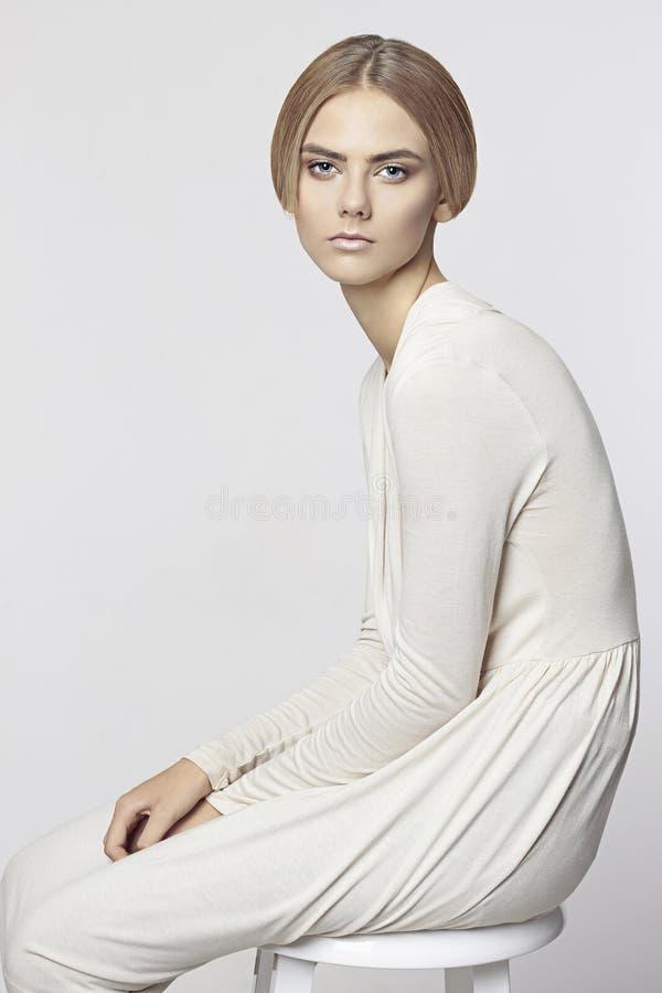 Красивейшая модельная девушка стоковые изображения