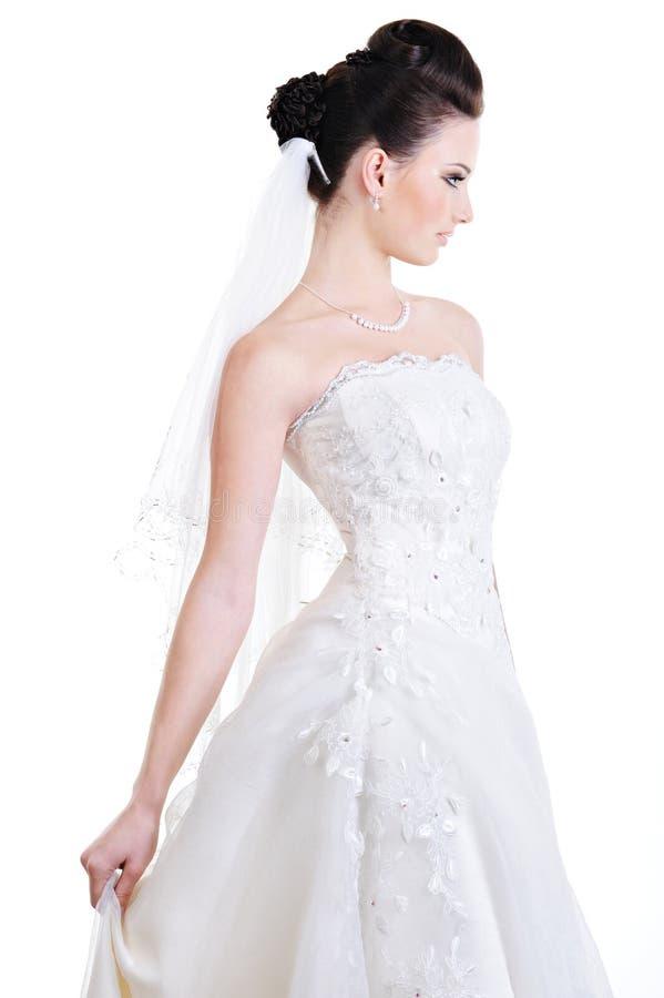 красивейшая невеста шикарная стоковая фотография