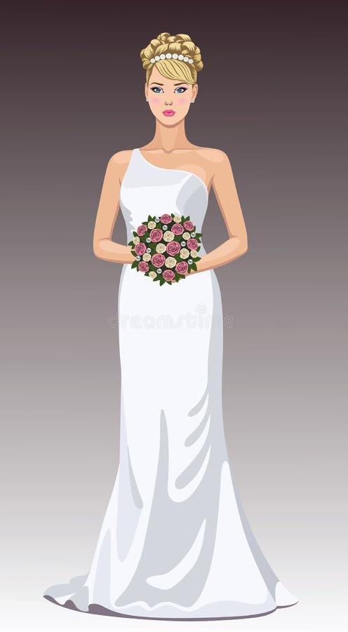 красивейшая невеста бесплатная иллюстрация