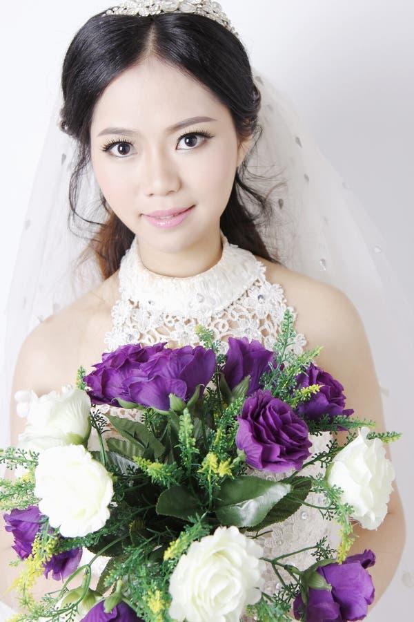 красивейшая невеста 2 стоковая фотография
