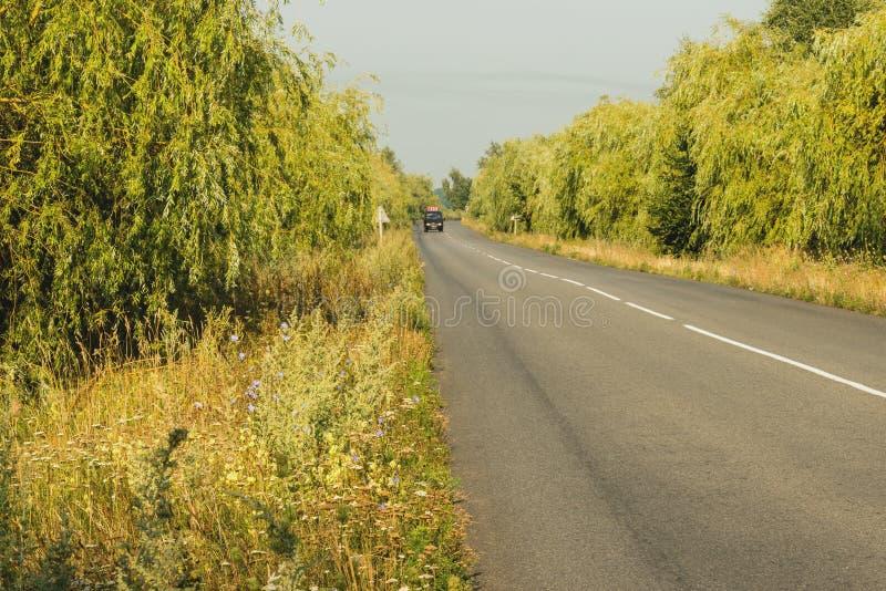 красивейшая дорога сельская стоковая фотография rf