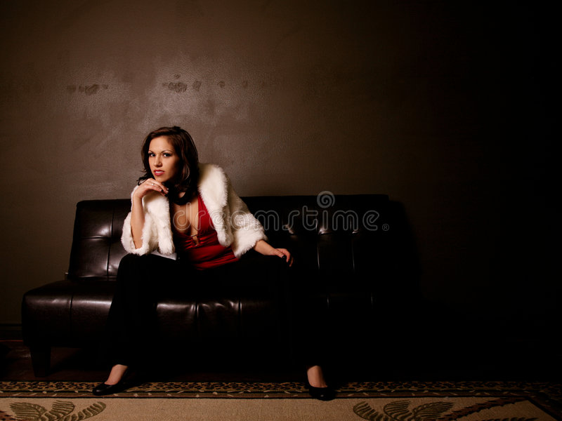 красивейшая первоклассная женщина стоковое изображение