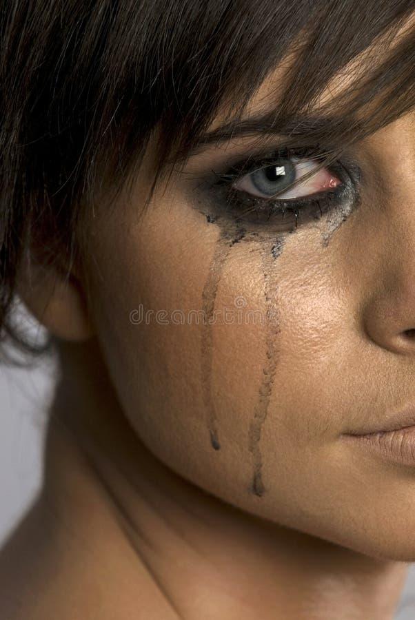 красивейшая плача девушка стоковые фотографии rf
