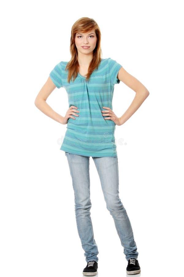 красивейшая предназначенная для подростков женщина стоковая фотография