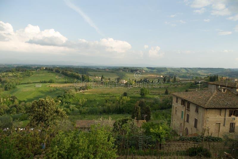 красивейшая Тоскана стоковое изображение